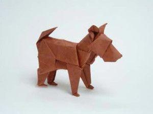 Innocent Dog Origami - http://www.ikuzoorigami.com/innocent-dog-origami/