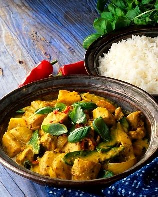 My Slimming World Syn Free Yellow Thai Curry Recipe