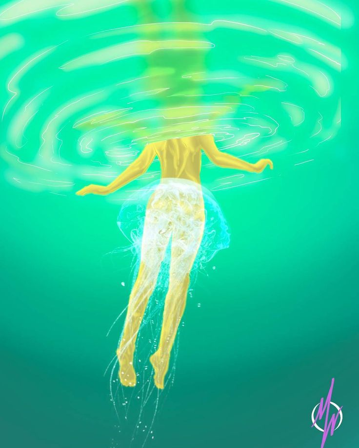28.06.2016 jellydance  she dance like jellyfish swim deep in the wide dark ocean, looking for light of joy.  transparent and gently show the whole of her, honestly that she choose. sting and electrize me with her soul... #poem #poet #quotes #quote #painting #digital #drawing #illustration #jellyfish #ocean #sea #deep #dark #woman #adore #manifestwisely #art #artwork