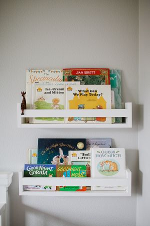 Make these Pottery barn inspired quick and easy bookshelves for every kids room!