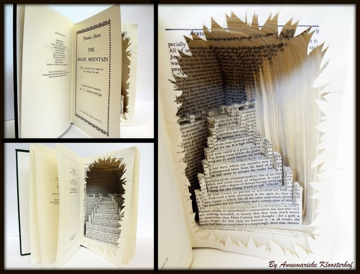 Best altered books images on pinterest book