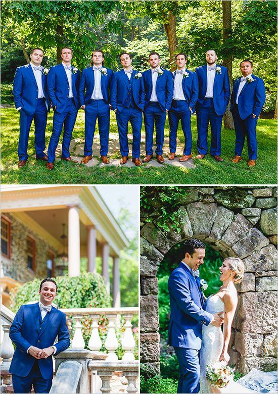 groomsmen in navy @weddingchicks