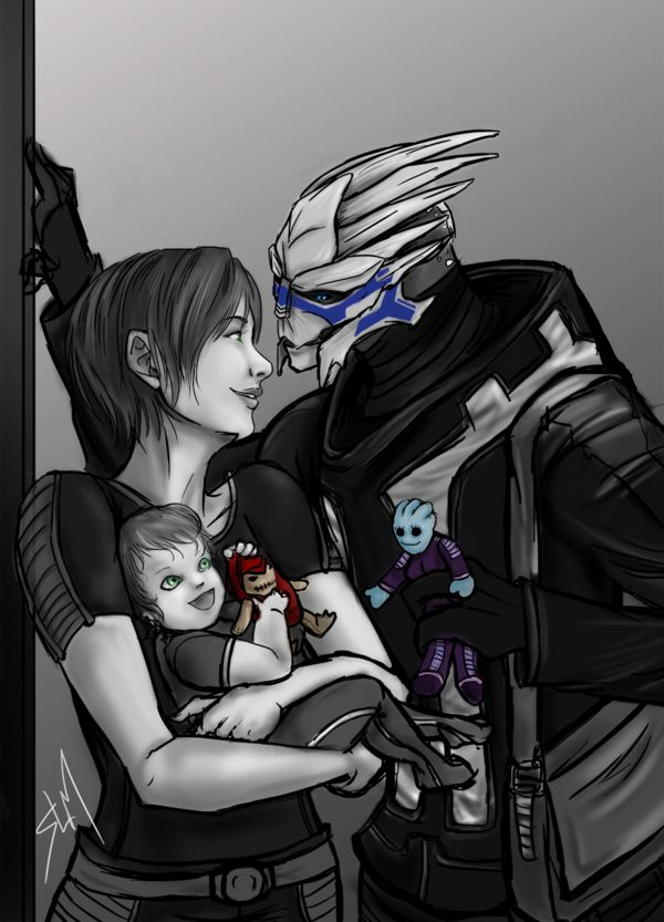 Commission - A Family Outing by Rossilyn on DeviantArt