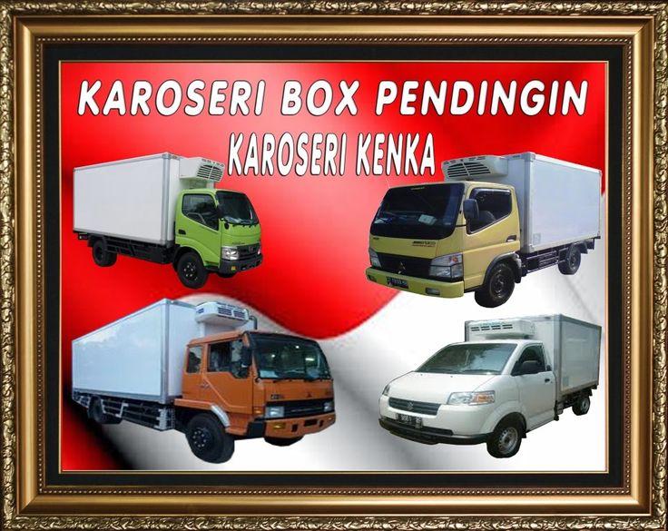 KAROSERI, Penjualan box pendingin dan freezer unit - Jakarta-Bekasi >> MOBIL PENDINGIN