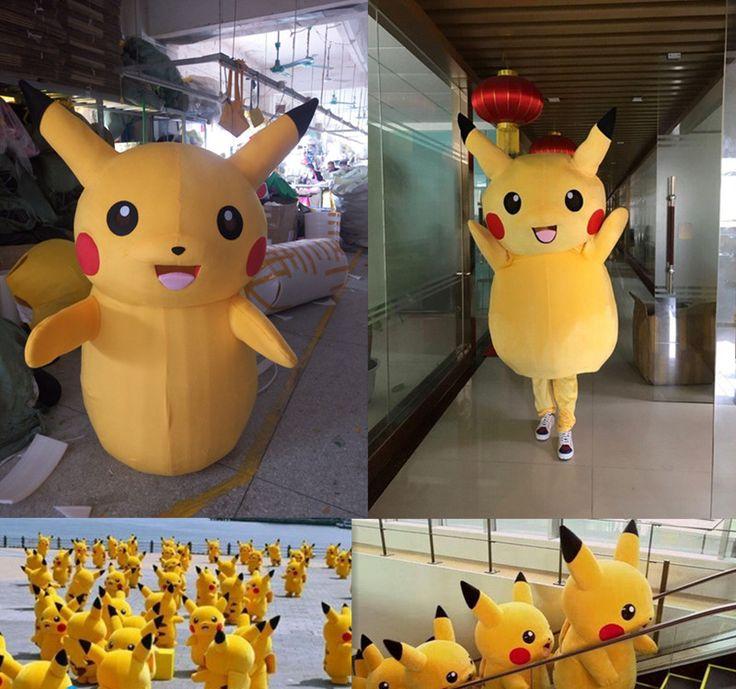 Pikachu Mascot Costume //Price: $ 189.95 & FREE shipping //  #nintendo #pikachu #pokemonx #pokemony #pokeball #pokemongo #pokemonxy #pokemontrainer