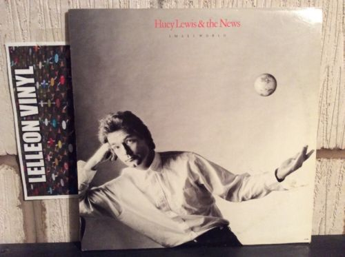 Huey Lewis And The News Small World LP Album Vinyl Record CDL1622 Pop 80's Music:Records:Albums/ LPs:Pop:1980s