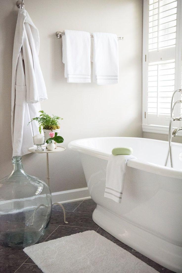 pottery barn master bath remodel - Wohnzimmer Ideen Keramik Scheune Stil