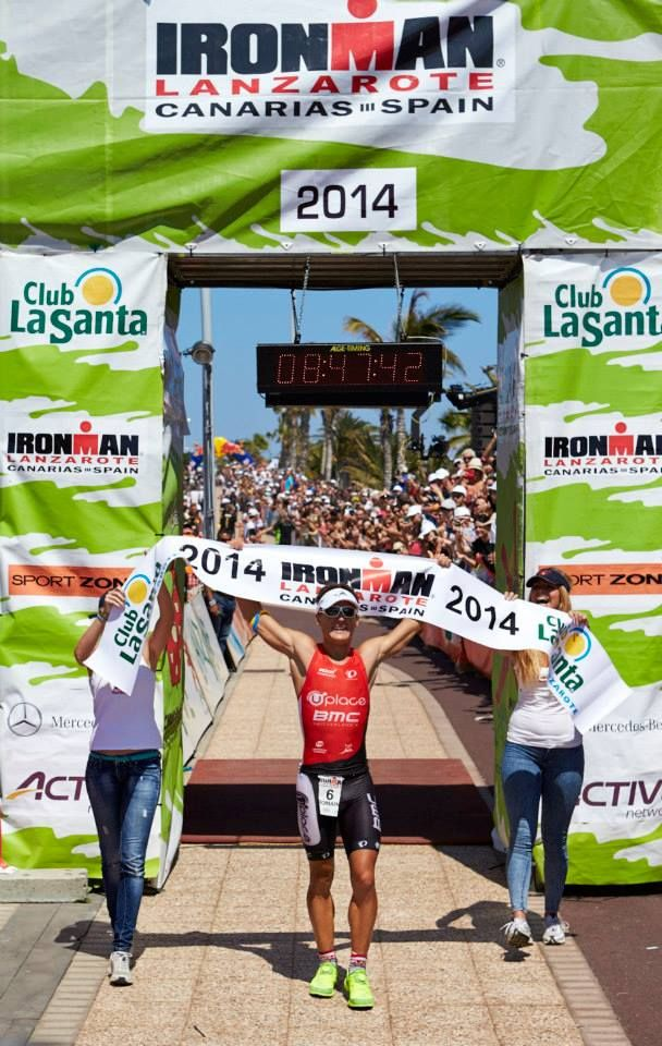 Ironman 2014 winner Romain Guillaume of Team Uplace BMC