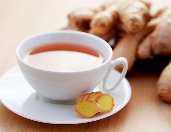 Chá termogênico de maracujá e gengibre