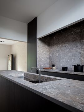 grey granite #britsomphilips #belgianarchitecture