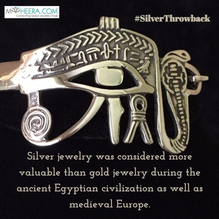 #silver #jewelry #throwback #egypt #middleages #factoftheday  #follow #myheera #socialmedia #startups #entrepreuner
