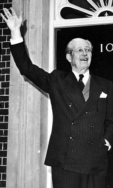 Harold Macmillan. First Prime Minister that I remember.