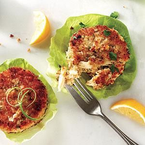 The sweet, clean flavor of crab shines in this recipe for Classic Crab Cakes.