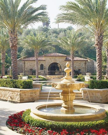 1000 ideas about luxury mediterranean homes on pinterest for Mediterranean house features
