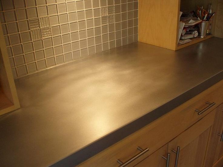 Patina zinc countertop!Countertops Patinas, Glasses Tile, Patines Zinc, Zinc Countertops, Kitchens Ideas, Kitchens Countertops, Patinas Zinc, Brookscustom Com Patines, Patinas Another