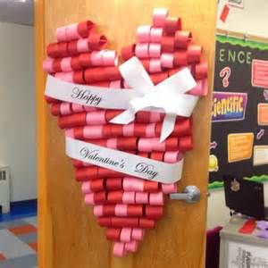Valentine's Day Door!   Classroom Decoration Ideas – Could do a book love bu…