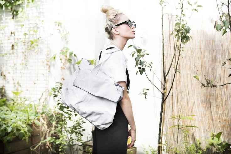 Lookbook S/S 2015 #mialuis #bags #white
