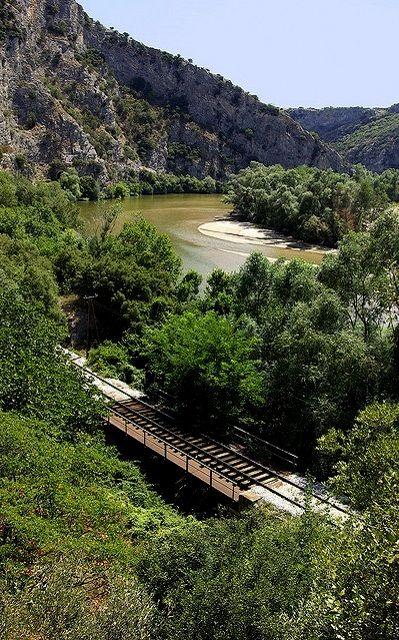 Nestos River - Toxotes, Xanthi, Greece | Flickr - Photo by Zopidis Lefteris
