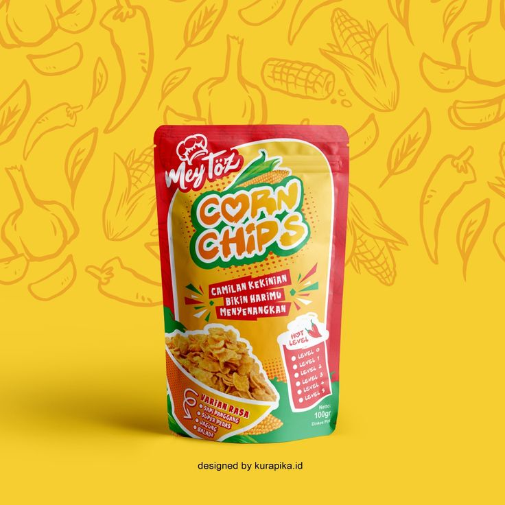 Desain Kemasan Snack, Desain Kemasan Standing Pouch , Jasa