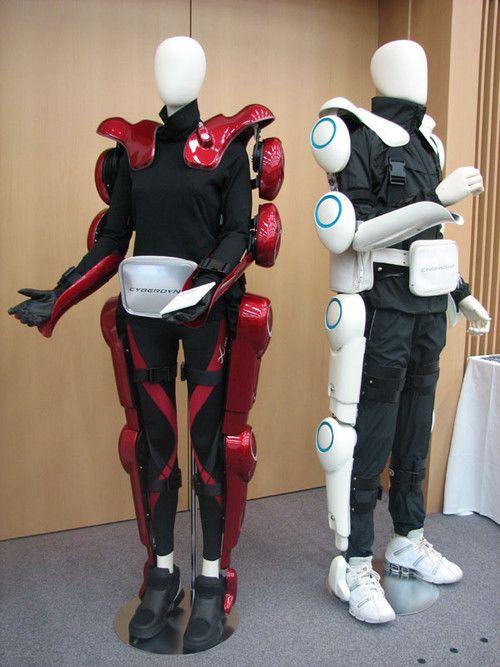 HAL, robot suit, Cyberdyne, futuristic, exoskeleton, cyberpunk, future, japan robot, Prof. Sankai, University of Tsukuba
