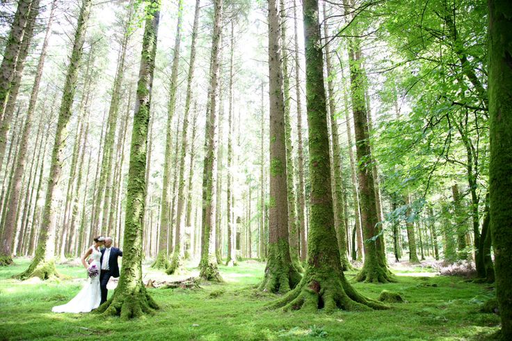 Gougane Barra Forest Park - the perfect place for wedding photographs #romantic #magical #fairytale
