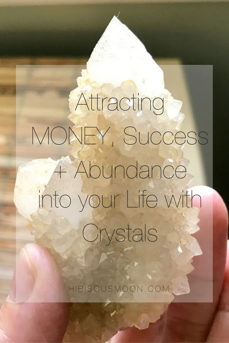 Attracting MONEY, Success + Abundance into your life with Crystals.  Powerful Crystal Manifesting, coming right up! This week on the blog, I'm giving you some really sparkly tips on how to rock the Law of Attraction with an ABUNDANCE attracting crystal grid. Click here >>> http://hibiscusmooncrystalacademy.com/attracting-abundance-life/