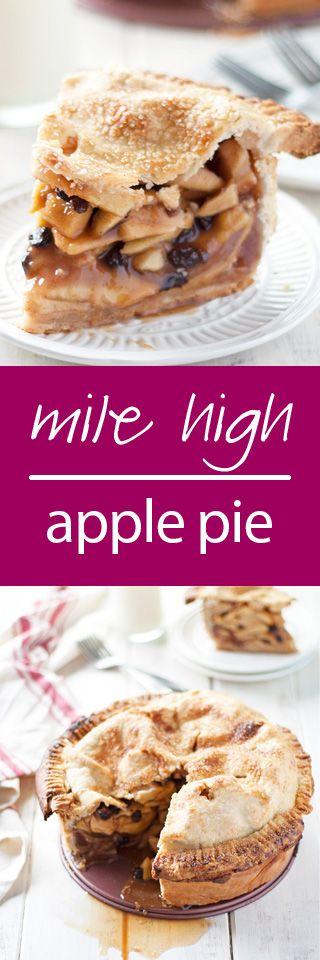 mile high apple pie   ahappyfooddance,com