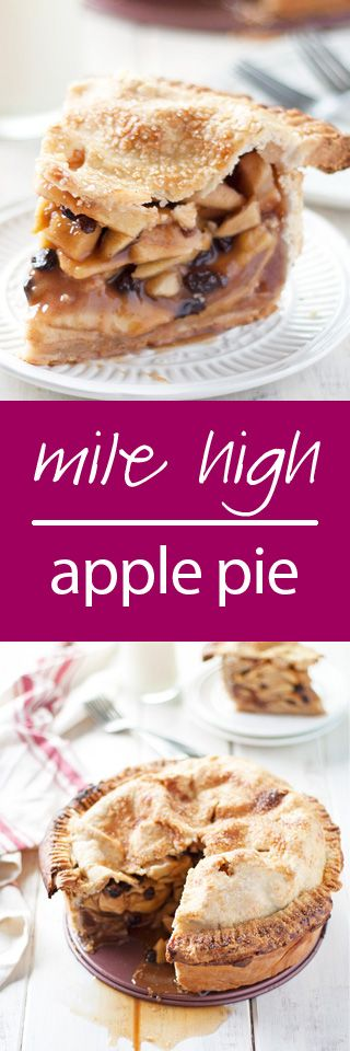 mile high apple pie | ahappyfooddance,com