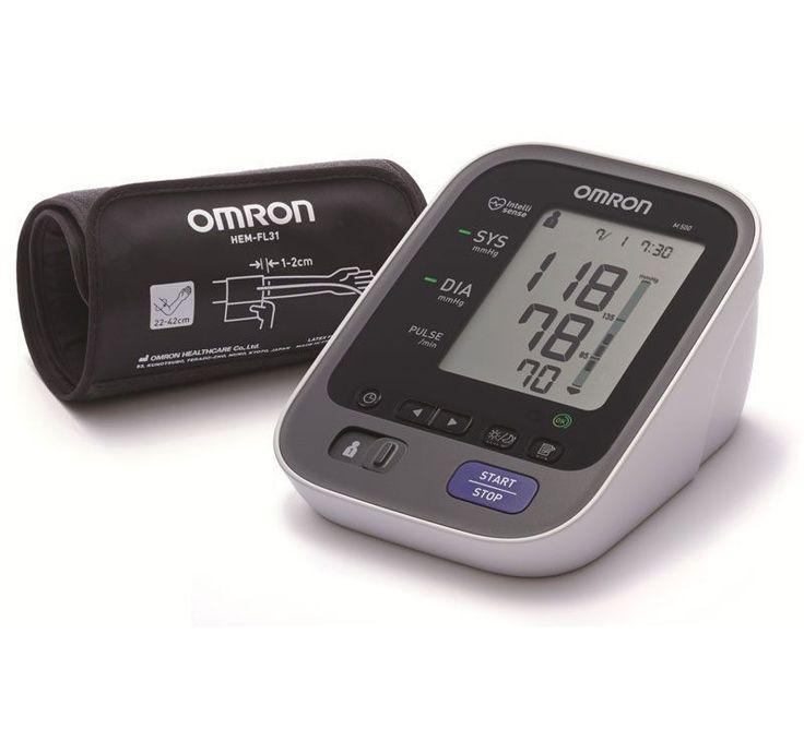 Omron m6 m500 due utenti misuratore pressione sfigmomanometro hem ...