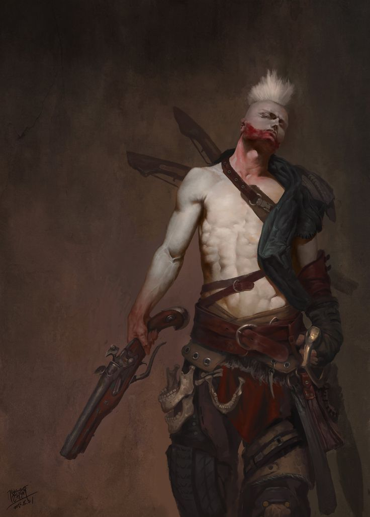 blood jaw, NI Yipeng on ArtStation at https://www.artstation.com/artwork/blood-jaw