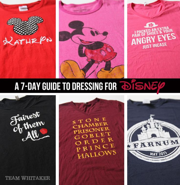 Packing for Disney? This 7-Day guide to dressing for Disney shares practical tips, whether to make or buy your Disney clothes and some awesome links to some pretty fabulous stores. Time to get your Mickey ears on!