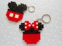 Mickey Minnie Kawaii Hama Beads