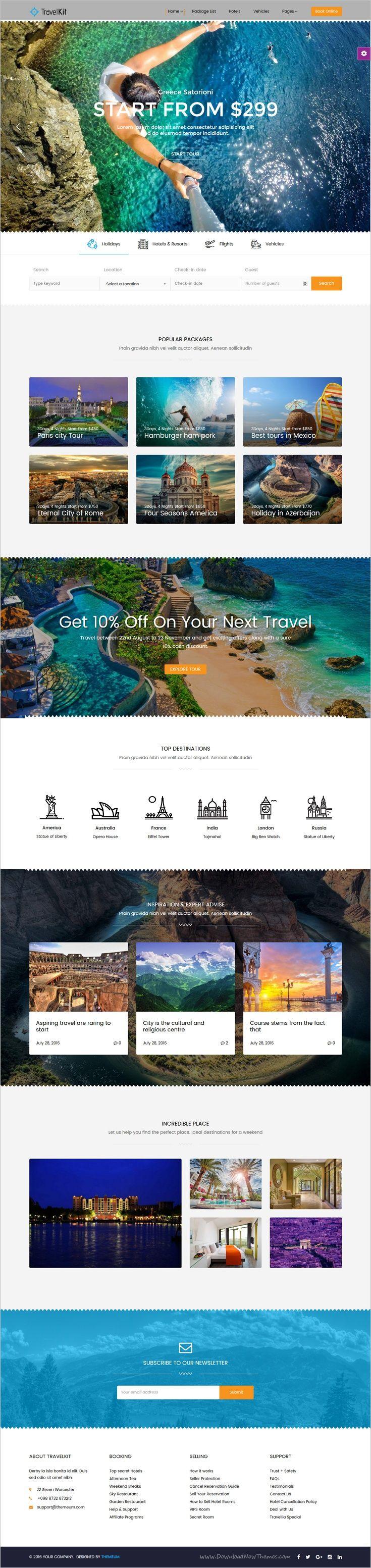 TravelKit is a wonderful responsive #WordPress 5x theme for #webdev the #travel agencies, #tour arrangement companies, tourism sector  website download now➩  https://themeforest.net/item/travelkit-the-fullfledged-tour-travel-wordpress-theme/18443964?ref=Datasata