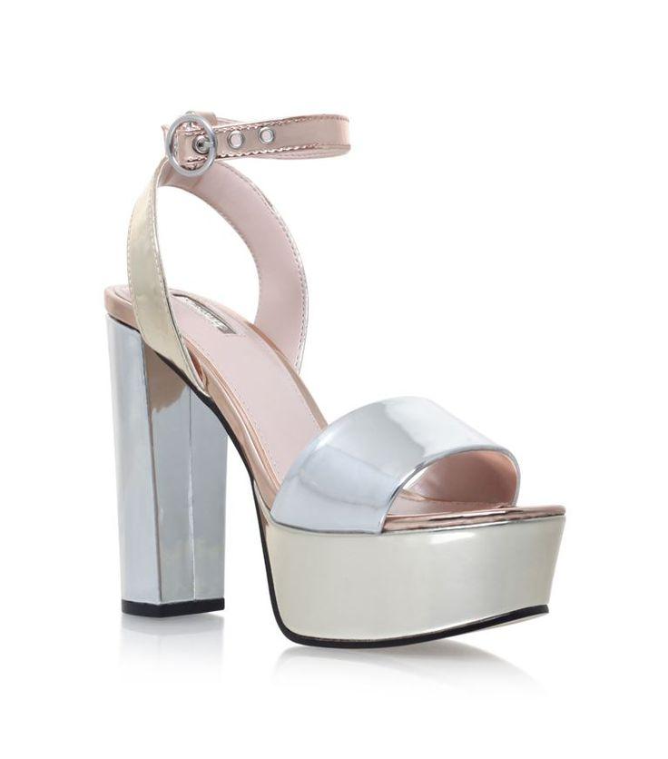 Shoes: Heels Carvela Kurt Geiger Geranium Metallic Sandals