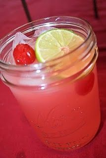 Pioneer Woman's cherry limeade