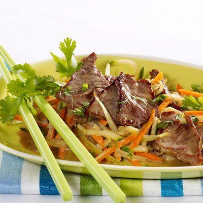 Sauté de bœuf aux légumes, facile et pas cher