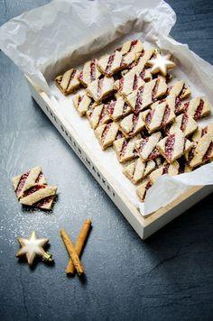 Linzer Schnitten (Weihnachtskekse)