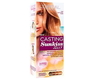 Casting Sunkiss Jelly  01 (til lysebrunt til mørkblond hår) Naturligere lysere hår Sommerstriber Highlights