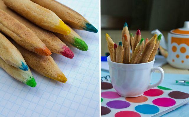 Des crayons à manger...