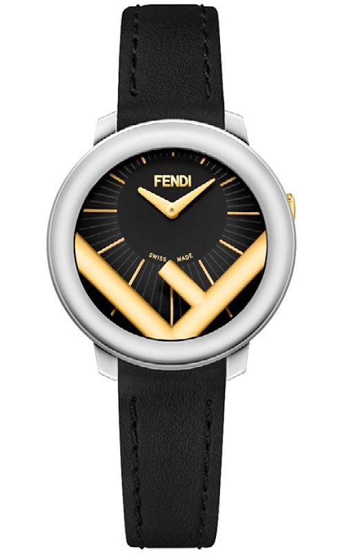 F710121011 Fendi Run Away 28mm Women s Two Tone Watch - Silvertone Golden  Case f3ce0c765fd9