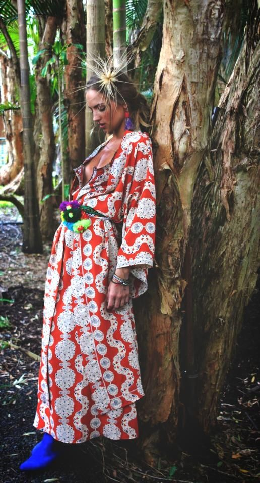 Kasbah Kimono hotness... www.lalalatrobe.com