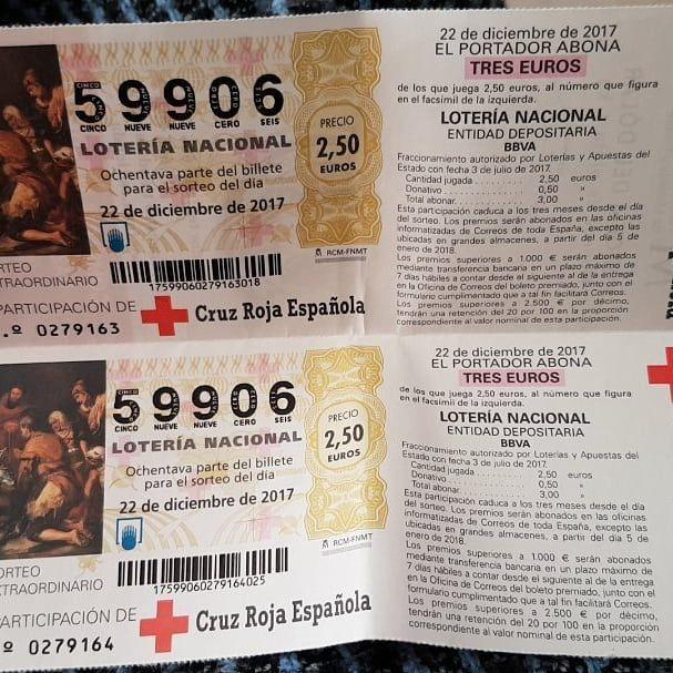 Lotería Burriana Bullet Journal Event Ticket