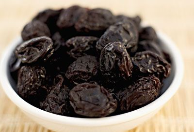 Eating four or five prunes a day will  strengthen your bones and boost energy