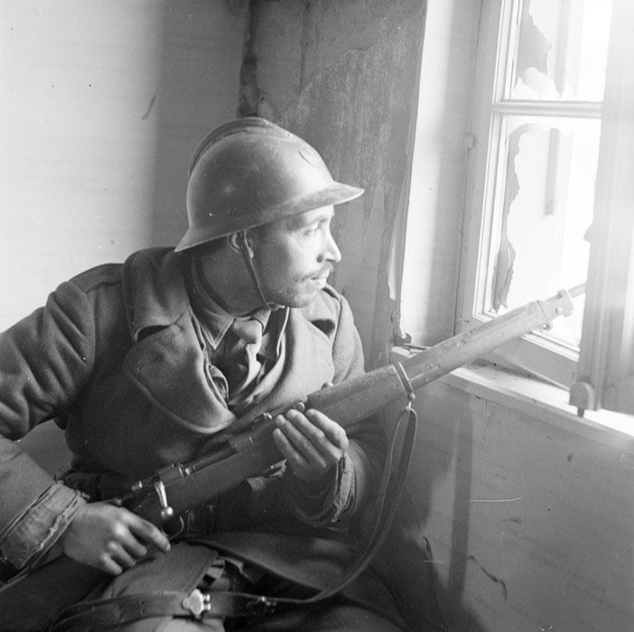 La 3e DIA franchit le ligne Siegfried et nettoie la poche allemande du Palatinat jusqu'à la rive gauche du Rhin