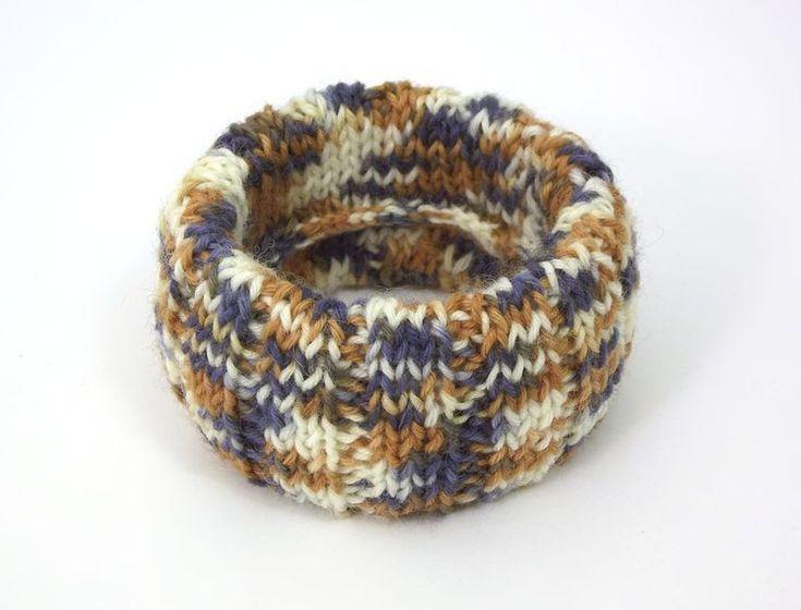 Bracelets – JEANS & WOOD Bracelet in a sweater  – a unique product by betulek on DaWanda