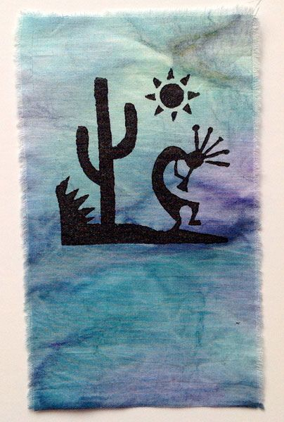 Kokopelli Art Designs using Wooden Printing Blocks | Flickr - Photo Sharing!
