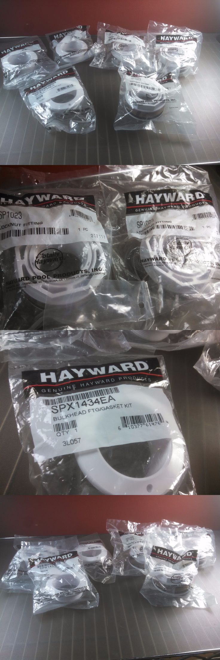 Spa and Hot Tub Parts 181075: Lot Of Hayward Pool And Spa Jet Air Iii Wall Fittings 3X Spx1434ea 3X Sp1023 -> BUY IT NOW ONLY: $31.49 on eBay!