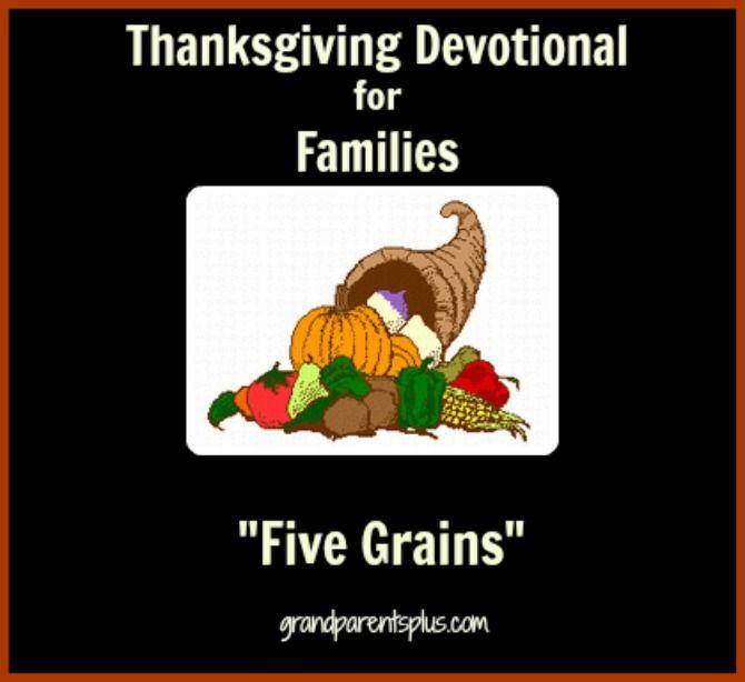 Thanksgiving Devotional for Families     GrandparentsPlus.com