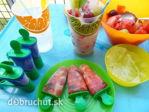 Fotorecept: Ovocné nanuky IBA z ovocia