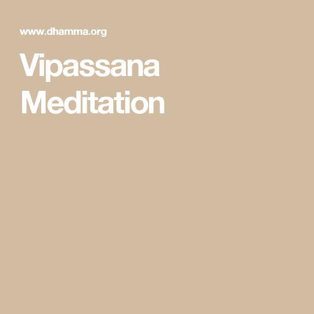 Best 25+ Vipassana Meditation Ideas On Pinterest